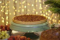 Torta de Nozes Pecan by Buffet Zest para uma mesa de Natal com sabor e alegria!