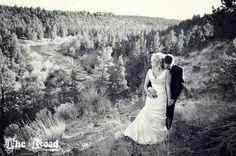My favorite wedding photo ever.  www.theroadphotography.com  Oregon based wedding and portrait photographer  Country wedding cowboy farm cowgirl farm