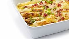 Zapekaná špargľa so šunkou Macaroni And Cheese, Ethnic Recipes, Food, Mac And Cheese, Essen, Meals, Yemek, Eten
