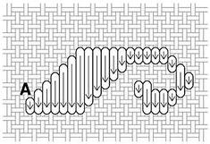 satin stitch designs on hardanger - Google Search