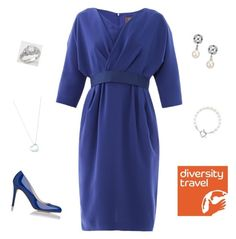 """""""Opening a new office of Diversity Travel in Edinburgh"""" by duchessofinverness ❤ liked on Polyvore featuring MaxMara, Mikimoto, Stila, Elsa Peretti and Tiffany & Co."""