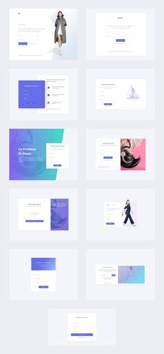 E-Commerce UI Kit - Dlex