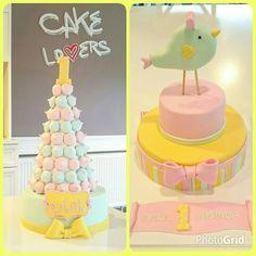 Beze kulesi ve 1 Yaş pastası