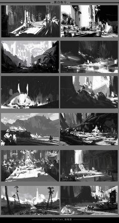 #БиР_композиция@drawit <br> #БиР_свет@drawit <br><br>G liulian <br>concept artist <br>https://www.artstation.com/artwork/mdLo8