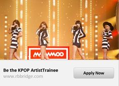 Agencia coreana Rainbowbridge lança evento para seleção de Trainee