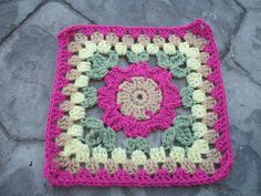 """Ravelry: Blooming Granny - 12"""" Square by Melinda Miller"""