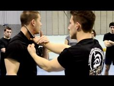 KRAV MAGA TRAINING • How to disarm a Knife to Throat (part 1) - YouTube