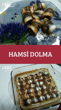 Hamsi Dolma Fish And Meat, Fish And Seafood, Turkish Recipes, Italian Recipes, Fish Recipes, Seafood Recipes, Turkey Today, Turkish Sweets, Turkish Kitchen