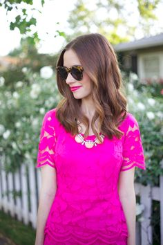 M loves M is pretty in pink in our melon deco strand!