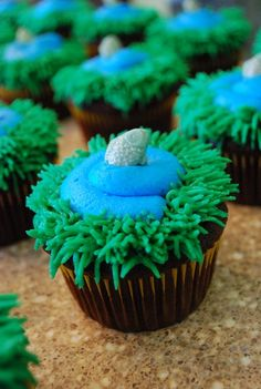 Gone Fishin' Cupcakes