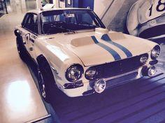 Torino 380W. Compitió en Nurburgring en 1969. Cuarto!