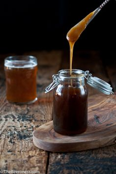 Salted Beer Caramel Sauce = yes, yes, yes and yes.  #craftbeer