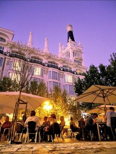 Plaza Santa Ana, Madrid_ Spain