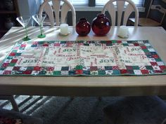 Heirloom quality Rectangular Christmas by KaTerryTheSewSisters, $18.00