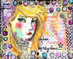 Hello everyone! Jenn here today sharing with you a layout in my art journal using Art Anthology sprays and mediums! I find art journaling to be one of the most relaxing art forms. Journal Layout, Journal Ideas, Relaxing Art, Printed Napkins, Gel Medium, Ink Stamps, Aqua Color, Stay Strong, Hello Everyone