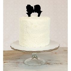 LUV THIS! Custom Silhouette Wedding Cake Topper in by Silhouetteweddings, $50.00