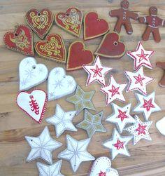 salt dough ornaments | Ruby Murrays Musings: Salt Dough Christmas Tree Ornaments