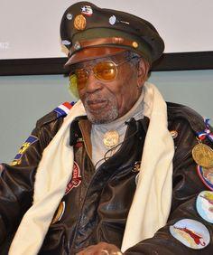 Tuskegee Airman, Congressional Gold Medal Recipient Julius T. Freeman,