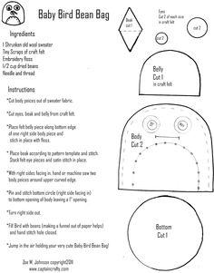 bean bag tutorial blog