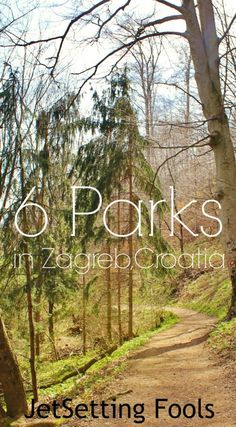In addition to strolling the historic streets to see the sites in Zagreb original towns, Gradec and Kaptol, we found green spaces throughout the city. 6 Parks in Zagreb Croatia.