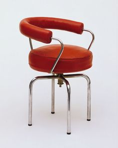 Charlotte Perriand, Le Corbusier (Charles-Édouard Jeanneret), Pierre Jeanneret. Revolving Armchair. 1928