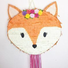 Piñata de Fox woodland Piñata de zorro Bosque Baby Shower