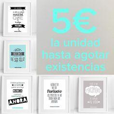 Últimas unidades de diferentes láminas al 50%. Aprovecha si quieres alguna!   http://ift.tt/1n71PmC  #virusdlafelicidad #lamina #deco #promocion
