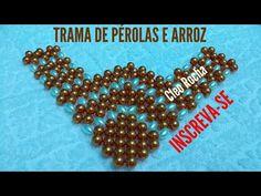 PASSO A PASSO TRAMA DE PÉROLAS - YouTube