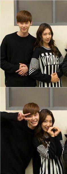 Park shin hye y Lee jong suk