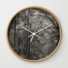 "FREE SHIPPING + 10% OFF EVERYTHING - ENDS TONIGHT AT MIDNIGHT PT - SHOP GIFT IDEAS >  Available in natural wood, black or white frames, our 10"" diameter unique Wall Clocks feature a high-impact plexiglass crystal face and a backside hook for easy hanging. Choose black or white hands to match your wall clock frame and art design choice. Clock sits 1.75"" deep and requires 1 AA battery (not included)."