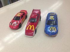 #Albuquerque, NM Merchandise / #Collectible #McDonald's Cars - Geebo - From 1998 and 1993