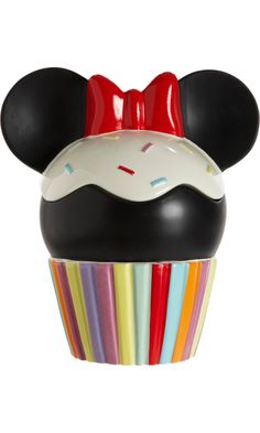 Disney® Electric Holiday Minnie Mouse Cookie Jar available at Barney's New York