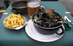 mossels found in Bruges