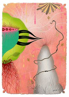White Mountain Violator by Colin~Johnson, via Flickr American Illustration, Collage Illustration, Communication Art, Publication Design, Freelance Illustrator, Drawing S, Contemporary Artists, Illustrators, Mixed Media