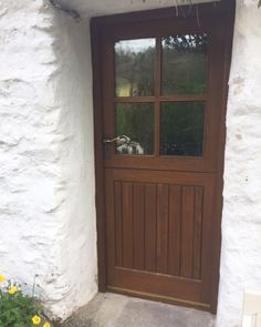 """This brilliant restoration of old distressed windows and doors was achieved using Osmo Paint Stripper, Wood Reviver Gel and Natural Oil Woodstain 732 Light Oak.  """"It was a labour of love and I'm extremely impressed with the Osmo system, and over the moon with the end result,"""" Osmo Customer, Richard Austin.   Well, we love the end result too Richard! Thank you very much for sharing with us."""