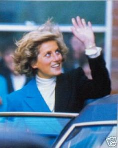 October 6, 1988: Princess Diana during the new Day Care Centre Opening of the Teesside ospice Care Foundation in Middlesbrough, Cleveland.