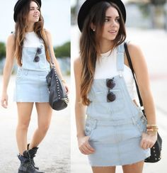 The Denim Overall // Kitteh's Cupcakes blog