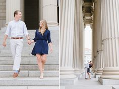 Washington DC Engagement Pictures | Natalie Franke Photography