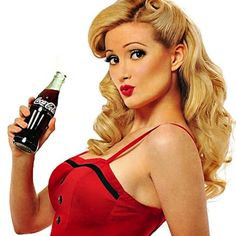 Pin Up Girl Hairstyles | Holly-Madison-Pin-Up-Periodical-Pin-Up-Hairstyles-7.jpg