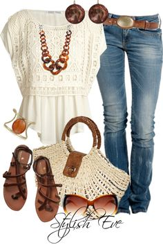 """""""Untitled #1973"""" by stylisheve on Polyvore.... Minus the bag....."""