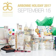 Arbonne Holiday 2017.....Starts September 15th !!! luzmariaheredia.a...