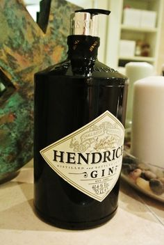 gin bottle soap dispenser