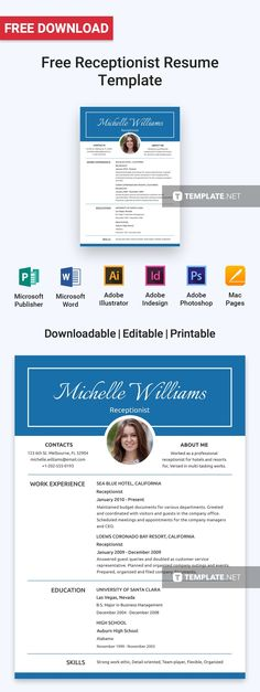 1041 best Resumes templates images on Pinterest