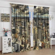 zojihouse Urban,Customized Curtains,Melbourne City Australia,Blackout Draperies for Bedroom, Bamboo Curtains, Kids Curtains, Drapes Curtains, World Map Africa, Beaded Door Curtains, Seaside Decor, Wooden Hangers, Wooden Beads, Melbourne