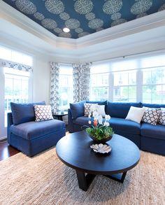 Modern sunroom design by Creative Elegance Interiors.