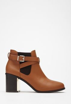 Buckled Chelsea Boots | Forever 21 - 2000053107
