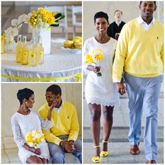 The cutest courthouse wedding
