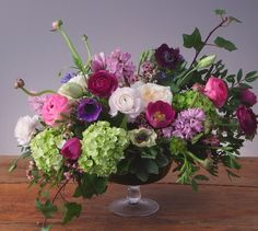 Downton Abbey flower arrangement from Westmount Florist