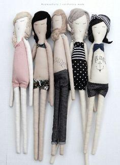 Jolies poupées d'été...