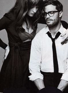 Dakota and Jamie Dornan Glamour March 2015